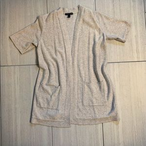 Eileen Fisher Short Sleeve Cardigan Sweater